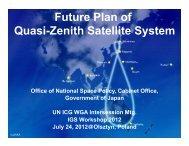 Future Plan of QZSS - IGS