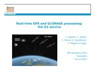 Real-time GPS and GLONASS processing: the G2 service - IGS