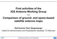 First activities of the IGS Antenna Working Group