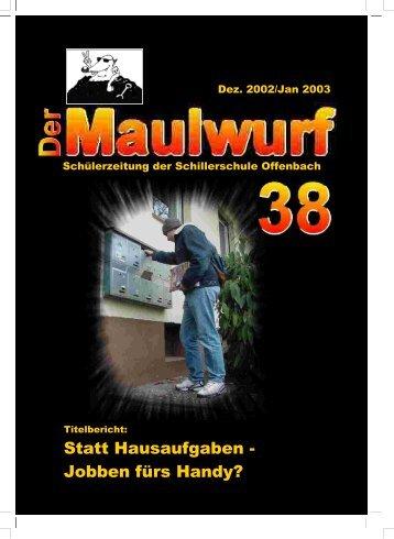 Umschlag Nr.38 - Schillerschule