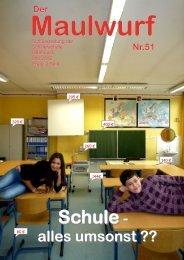 Maulwurf - Schillerschule