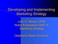 Developing and Implementing Marketing Strategy - IGSHPA ...
