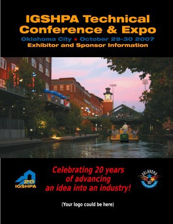 IGSHPA Technical Conference & Expo