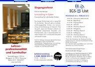 Gesamtschultag 04.02.2013.pdf - IGS List Hannover