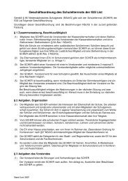Geschäftsordnung des Schulelternrats der IGS List - IGS List Hannover