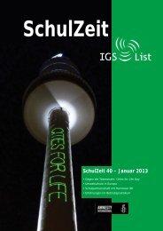 Schulzeit 40-12.indd - IGS List Hannover