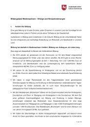 Bildungsland Niedersachsen – Erfolge und ... - IGS List Hannover