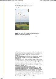 Windkraftbetreiber geht über Leichen