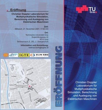 Eröffnung - Institut für Grundlagen und Theorie der Elektrotechnik