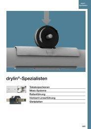 drylin®-Spezialisten - Igus