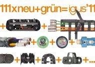 igus ® 2011: 111 x neu + grün... 11/2011...