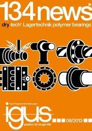 e-k dry-tech® Lagertechnik polymer bearings