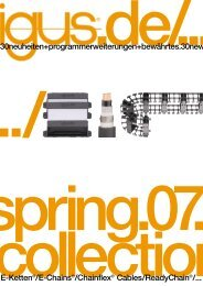 spring collection.07 E-Chains® Chainflex® ReadyChain