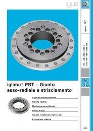iglidur® PRT – Giunto asso-radiale a strisciamento