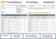 Fax Connectors Serie A