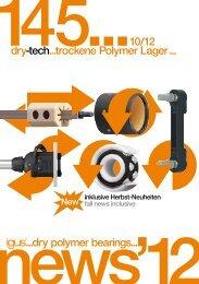 145...e-ketten ...me dry-tech...trockene Polymer Lager ... ...dry ...