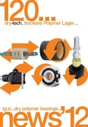 120...e-ketten ...me dry-tech...trockene Polymer Lager ... ...dry ... - Igus