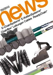 05/2010 E-ChainSystems ® E-KettenSysteme Chainflex ... - Igus