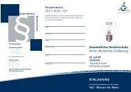 Gewerblicher Rechtsschutz Arten, Recherche ... - IGZ Bamberg