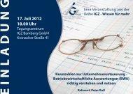 per Fax - IGZ Bamberg