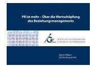 PR ist mehr - IGZ Bamberg