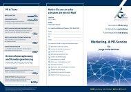 Informationsflyer - IGZ Bamberg