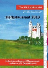 Herbstaussaat 2013 - ATR Landhandel
