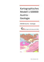 Ausführliche Information - Geologische Bundesanstalt