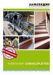 Leimholzplatten Katalog downloaden - Holz Ahmerkamp