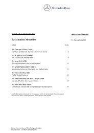 Faszination Mercedes - Daimler Global Media Site