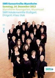 Programmheft 14.12.2013 - Südwestrundfunk