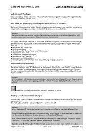 VORLAGEZEICHNUNGEN - CAD.de