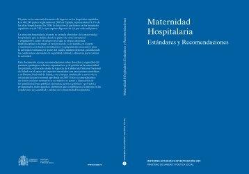 Maternidad Hospitalaria - Ministerio de Sanidad y Política Social