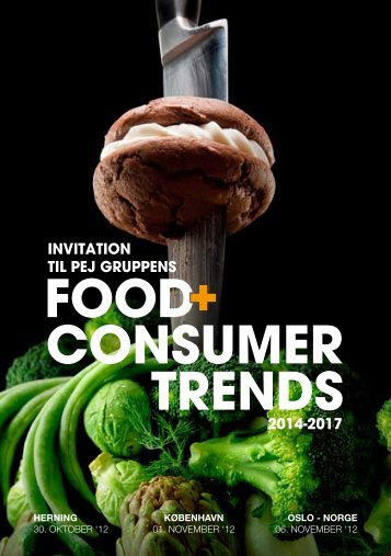 Food + Consumer trends konference