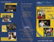 IHD Introductory Brochure - UMKC Institute for Human Development ...