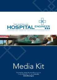 Click here - Institute of Hospital Engineering, Australia