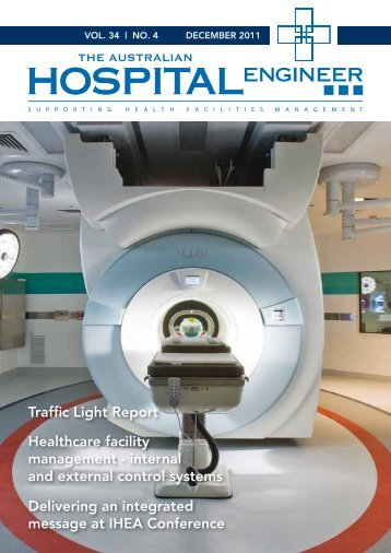 December 2011 Journal - view first pages here - Institute of Hospital ...