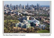 Structural Engineering of the Royal Children's Hospital Part 1