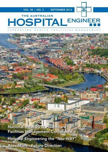 vol. 35 - Institute of Hospital Engineering, Australia