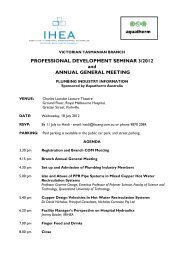 PROFESSIONAL DEVELOPMENT SEMINAR 3/2012 and ANNUAL ...