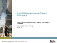 Controls Strategies to Improve Energy Efficiency