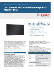 UML Familie 46-Zoll-Hochleistungs-LED-Monitor (HD)
