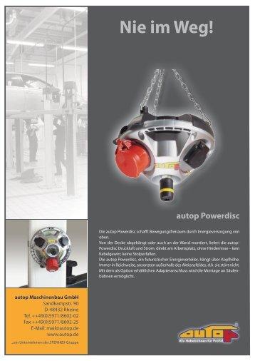 Powerdisc PRO - Auto Service Praxis