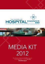 Media Kit - Institute of Hospital Engineering, Australia