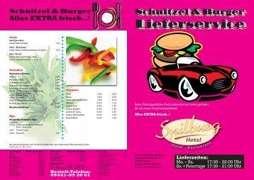 Karte als PDF zum ausdrucken - Hotel Spilburg