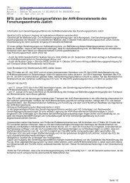 BFS: zum Genehmigungsverfahren der AVR ... - CL-Netz