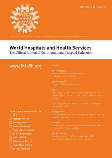 FINAL00 vol44.1 - International Hospital Federation