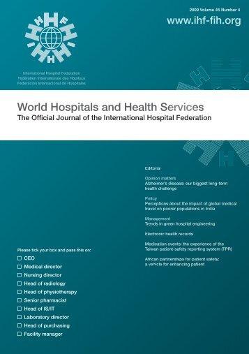 00 cover vol45.4.ai - International Hospital Federation