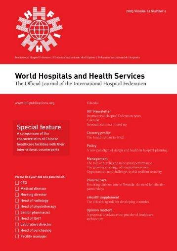 Untitled - International Hospital Federation