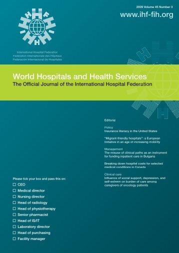 vol45.3 LR.pdf - International Hospital Federation